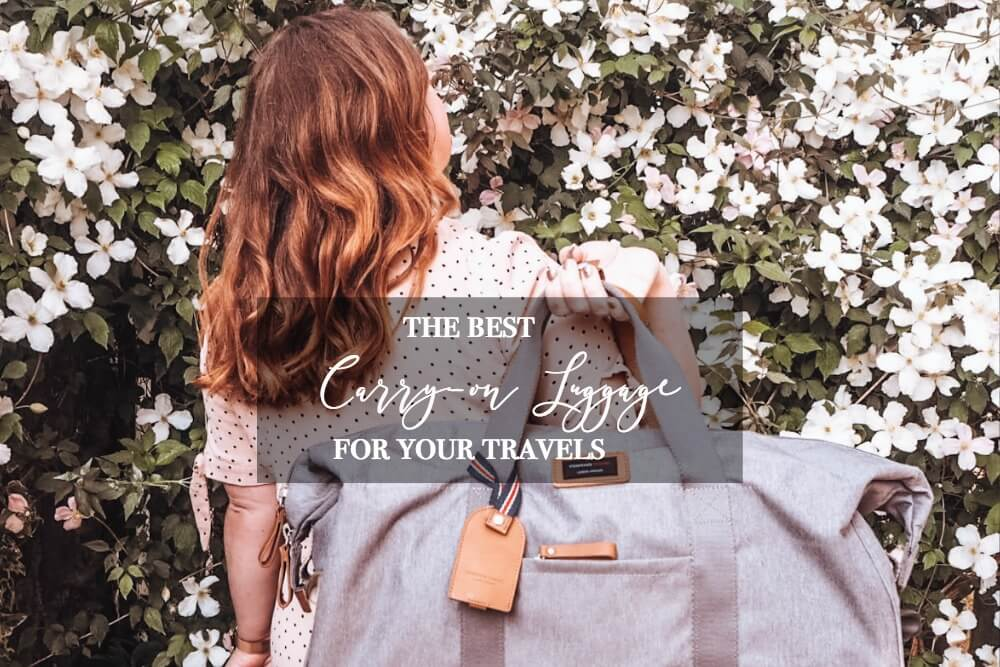 The best carry on luggage for your travels and packing cubes. www.allaboutrosalilla.con