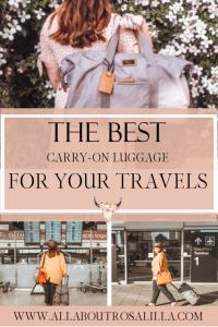 If you travel as frequently as us travel bloggers do your luggage will take some abuse. So I wanted to find what what my fellow travel bloggers favourite luggage is and I have collaborated with them to bring you a round up of the best luggage for your travels. So here is the breakdownand a round up of the best carry-on luggage for your travels. Read more on www.allaboutrosalilla.com