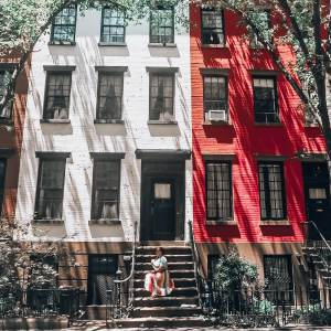 The most instagrammable places in New York. Willow Street Brooklyn Heights.