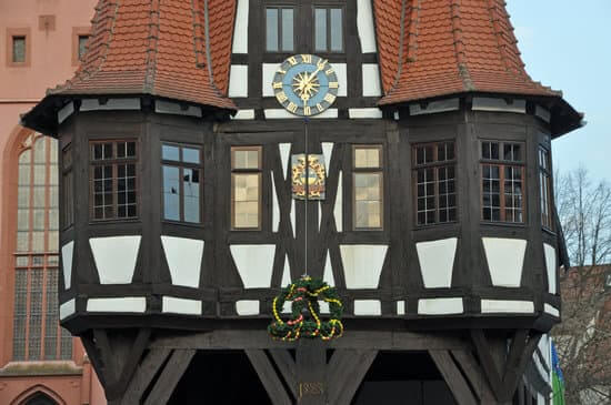 Town Hall in Michelstadt Germany