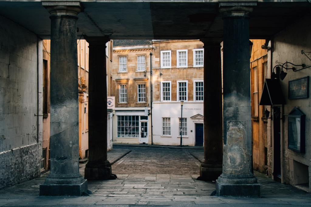 Georgian architecture of Bath UK