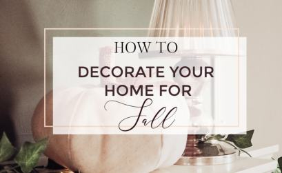 There are so many ways to decorate your home in a fun and festive way for Fall. I personally love bringing some warmth and cosiness to my home at this time of year.  Temperatures dip during the Autumn months so it is the perfect time to add warmth to your home with your Fall decor. I want to show you how I have decorated my home with my guide on how to decorate your home for Fall. Read more on www.allaboutrosalilla.com