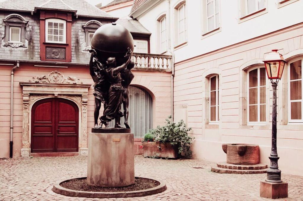 Bartholdi museum in Colmar.