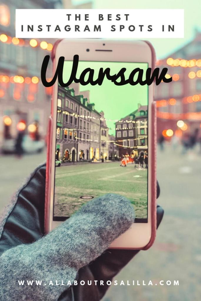 The best Instagram spots in Warsaw Poland.