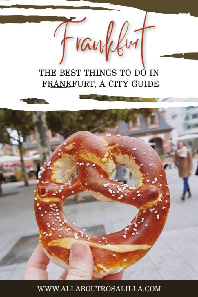 A round up of the best things to do in Frankfurt city in Germany. A city guide to Frankfurt, from Romerberg to Frankfurt Zoo on www.allaboutrosalilla.com #frankfurt #frankfurtcity #germany #visitgermany #thingstodoinfrankfurt
