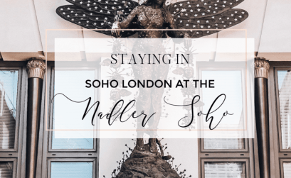 Staying in Soho London. The Nadler Hotel in Soho is the perfect base. Read more on www.allaboutrosalilla.com