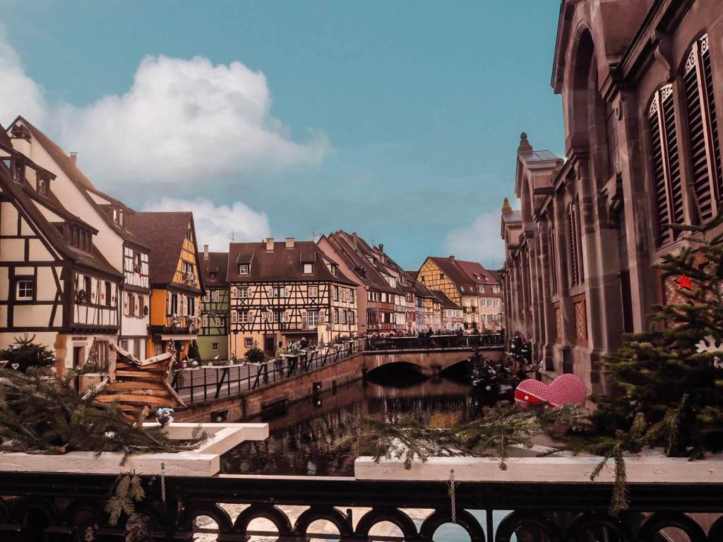 Little Venice in Colmar Alsace.