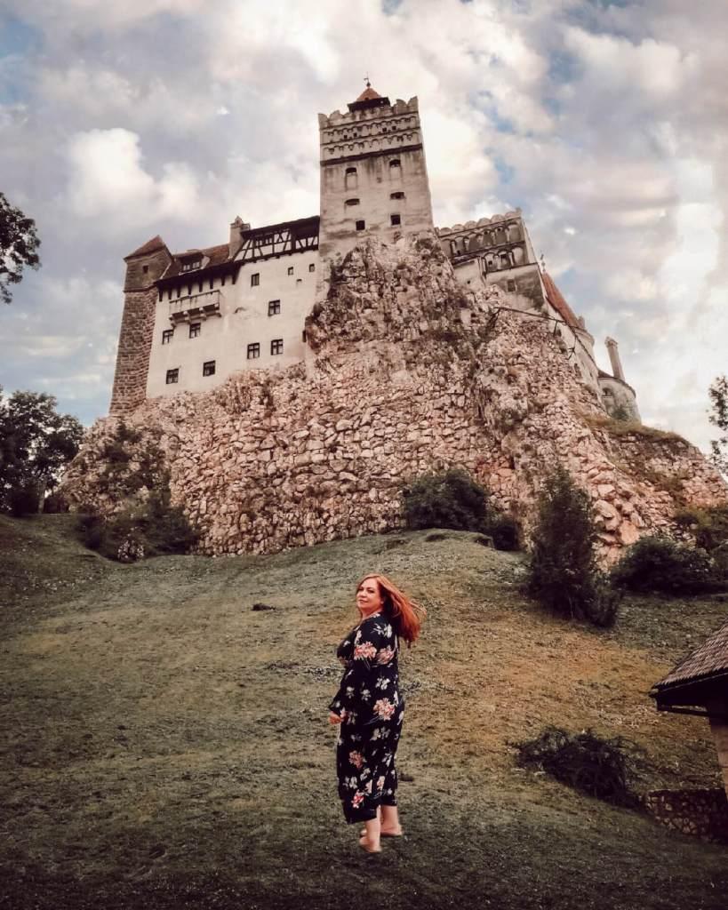 Bran castle in Romania. Read more on www.allaboutrosalilla.com