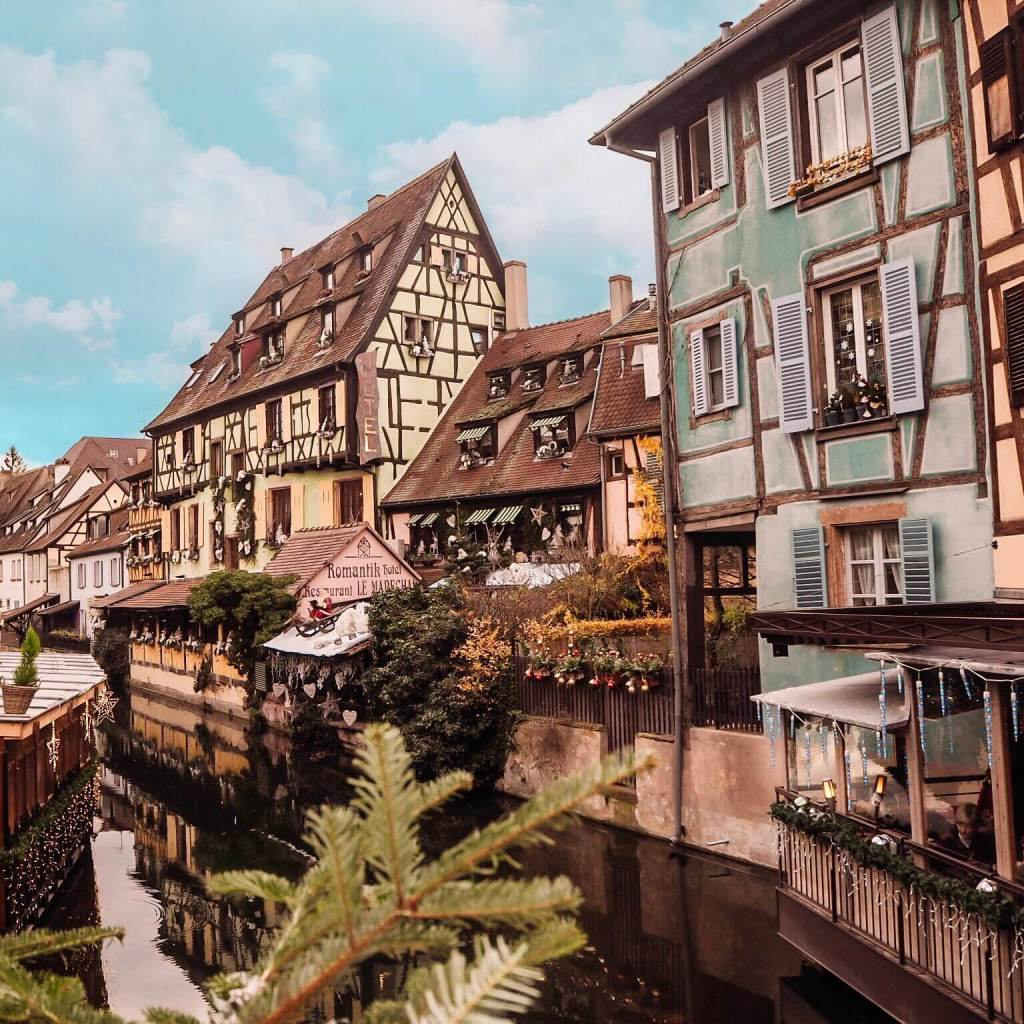 Little Venice in Colmar France.