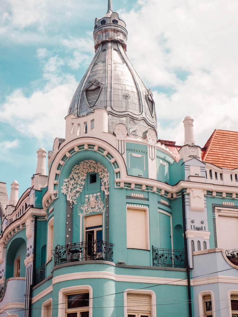 Architectural delights in Oradea Romania. Read more on www.allaboutrosalilla.com