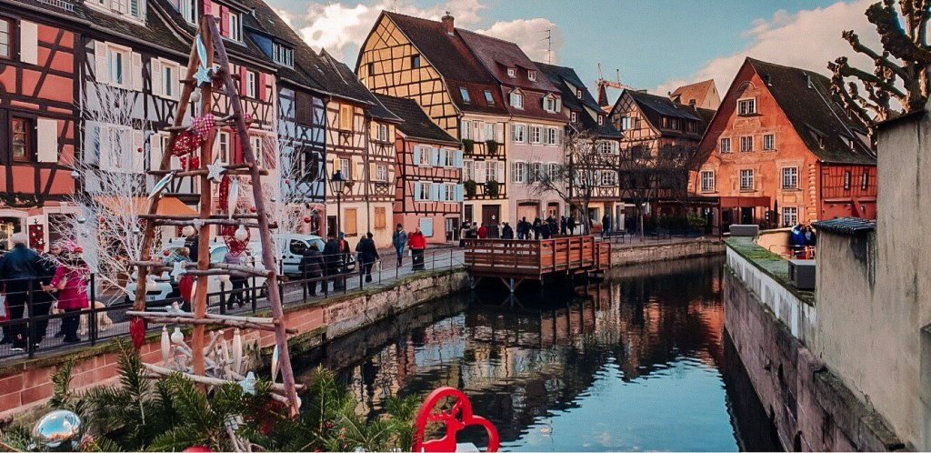 The colourful houses of Colmar.