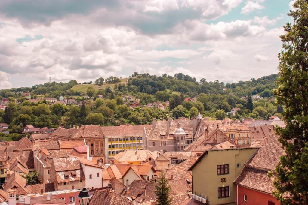 Rooftop views in Romania. Read more on www.allaboutrosalilla.com