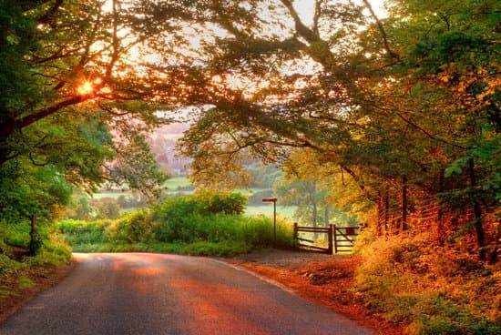 Autumn in Worcestershire United Kingdom