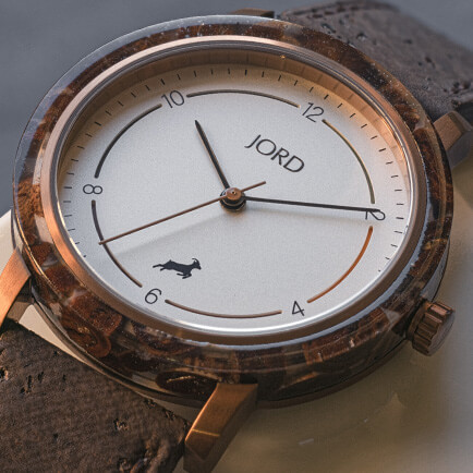 Jord coffee infused watch
