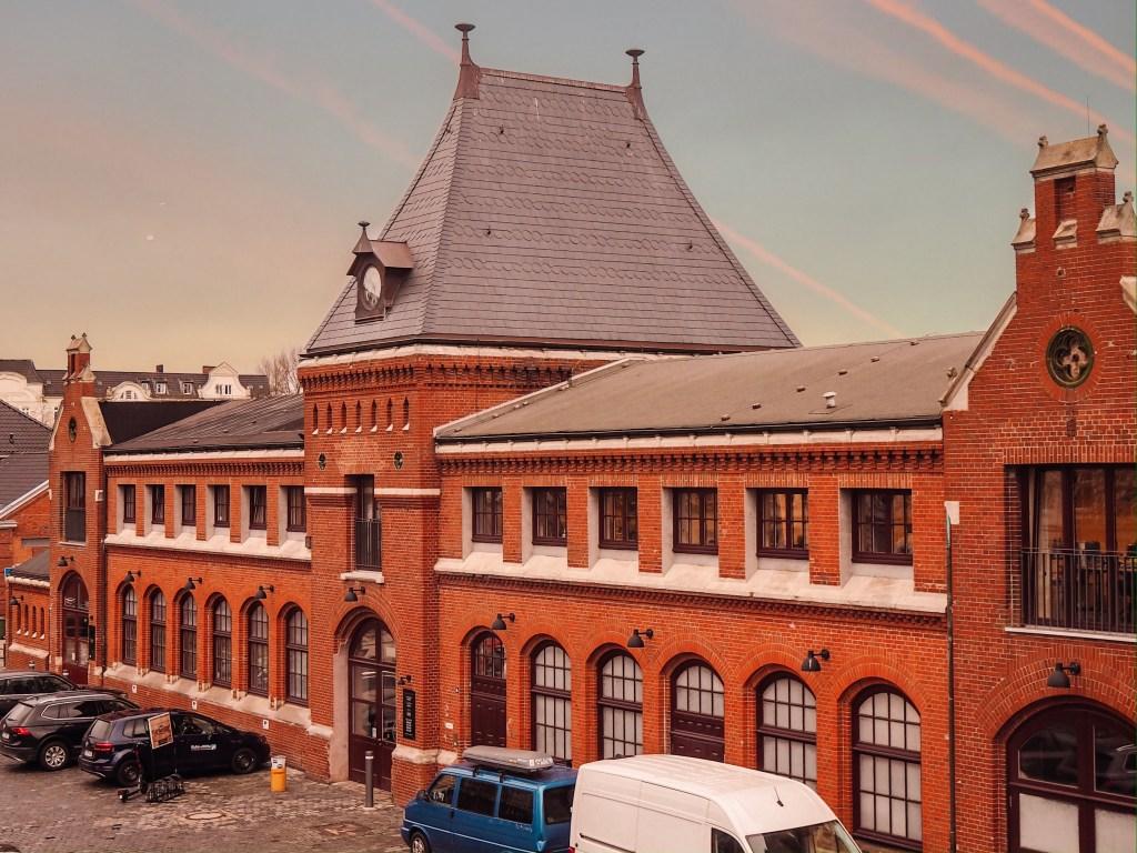 The old abbatoir in Schanzenviertel Hamburg Germany