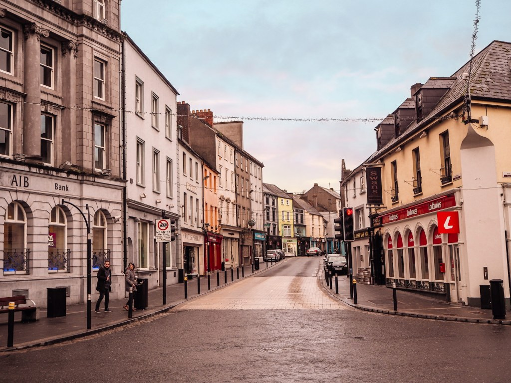 Colourful streets of Kilkenny city