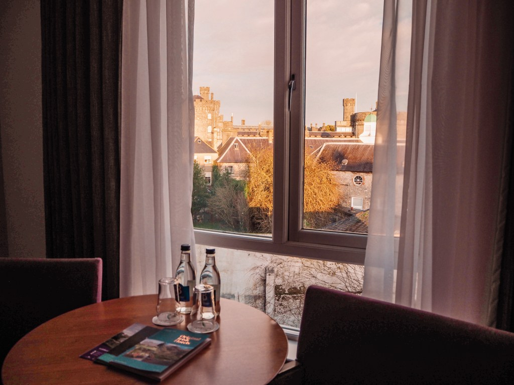 Views of Kilkenny Castle from The Pembroke Hotel Kilkenny