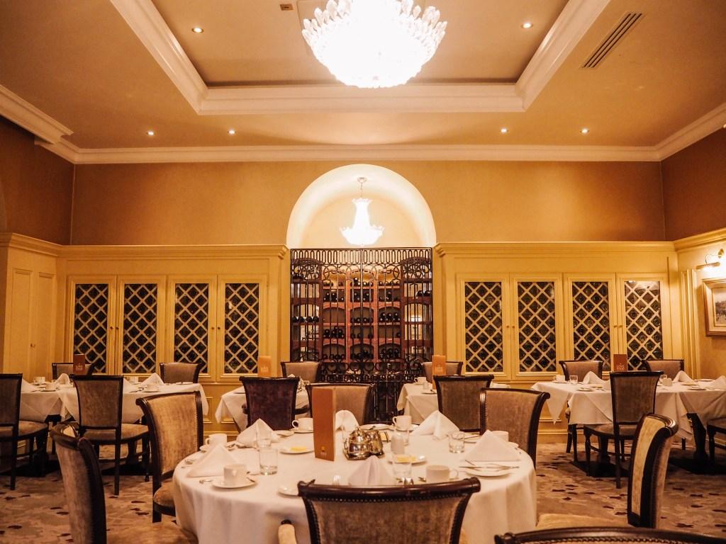 Catalina restaurant at Lough Ernr Resort.