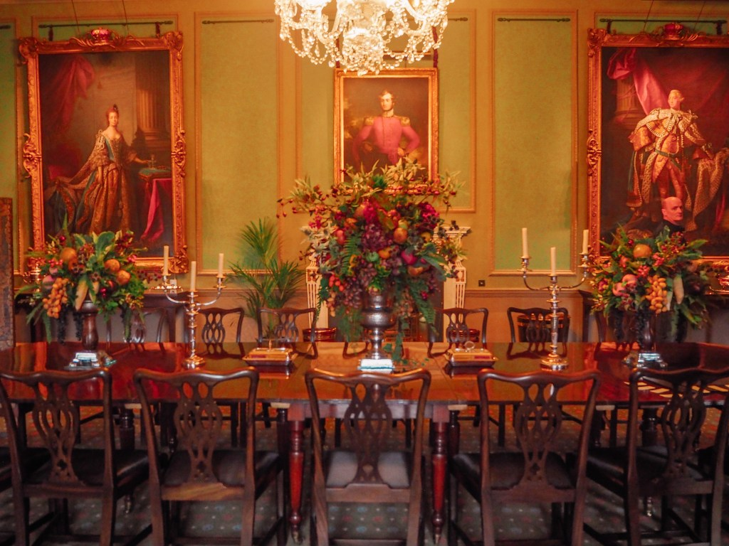Dining room of Hillsborough Castle