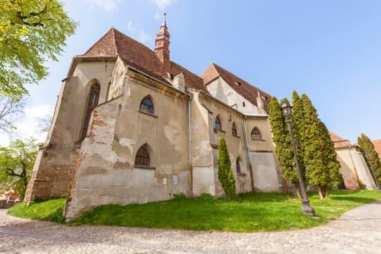 Monastery Church in Sighisoara.  Sighisoara, Mures County, Romania.