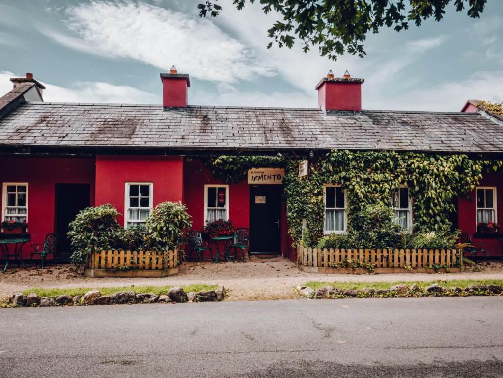 La Taverna Italian restaurant in Brooklodge and Macreddin village in Wicklow Ireland. Where to eat in Wicklow.