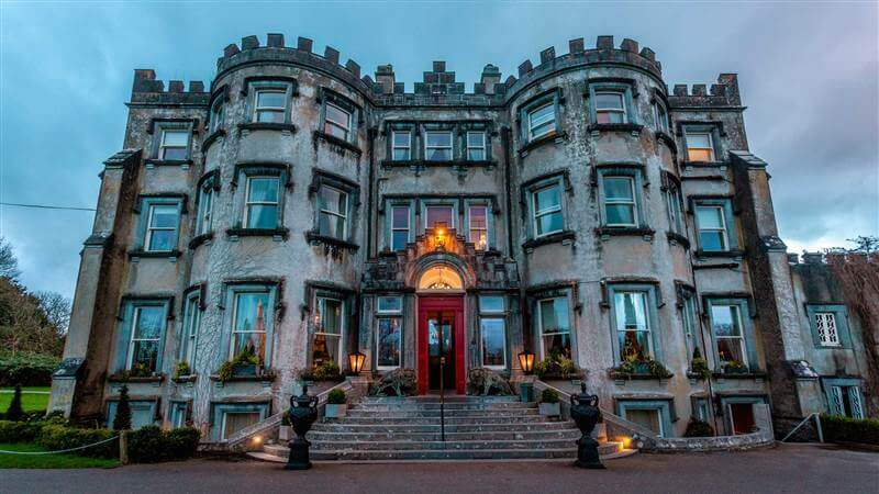 Ballyseede Castle in Tralee, one of Ireland's most haunted hotels