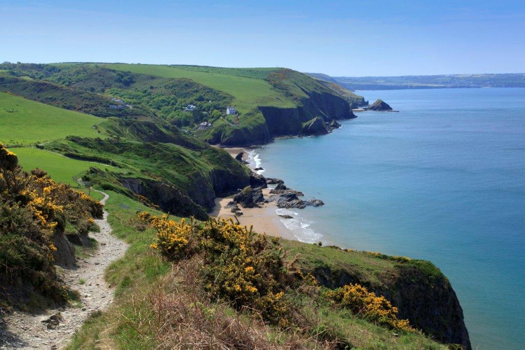 Llangrannog Coast Path Wales
