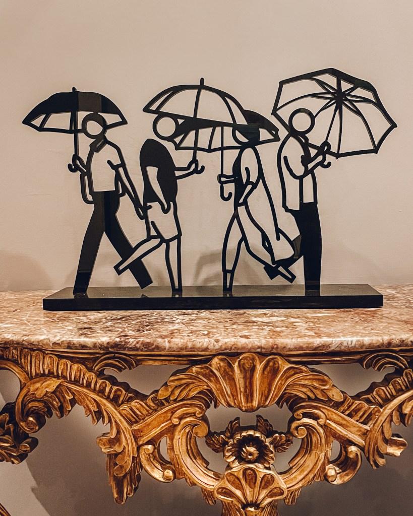 Summer Rain by Julian Opie