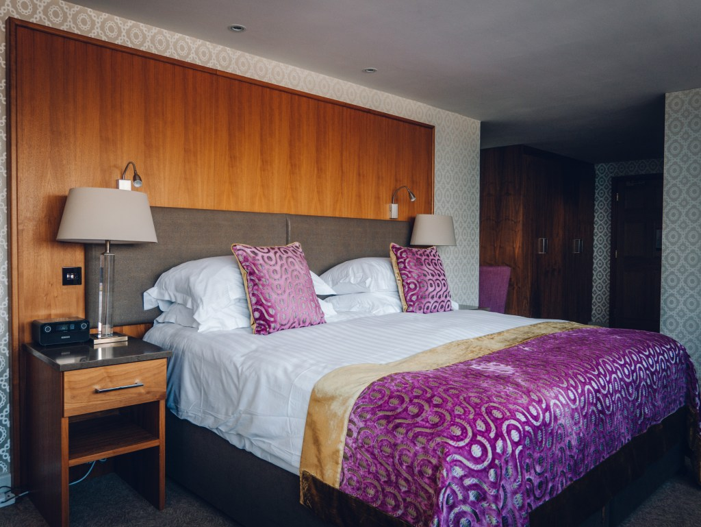 Bedroom at Ballygally Castle Hotel