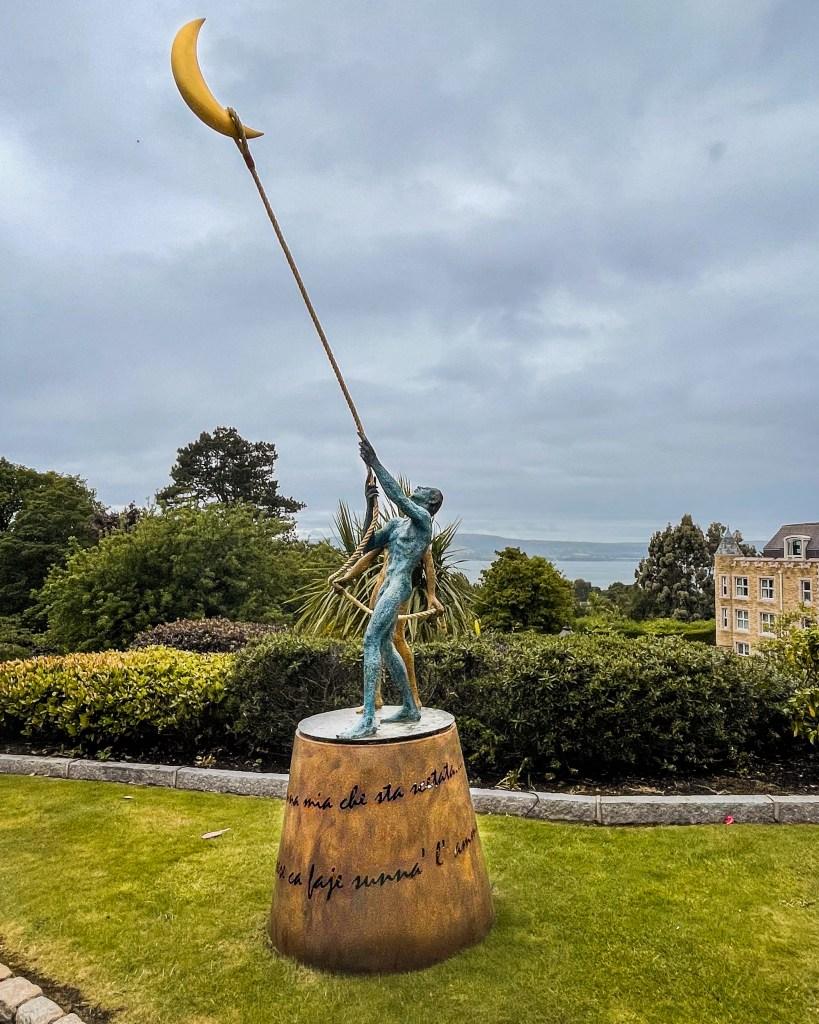 Giacinto Bosco sculpture on the grounds of Culloden Estate Belfast