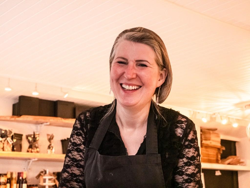 Deirdre McCanny expert chocolatier in Belfast