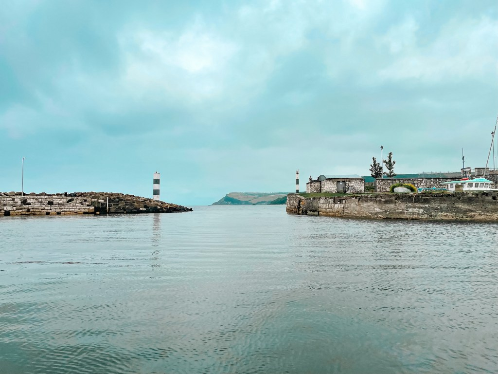 Carnlough harbour is a hidden gem in Antrim Northern Ireland
