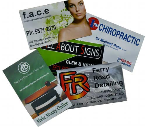 All about signs business cards all about signs all about signs makes business cards reheart Choice Image
