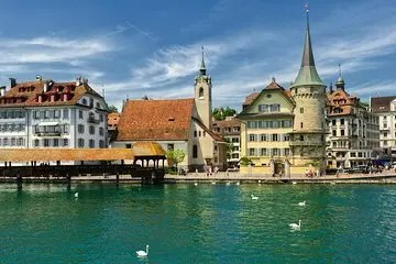 4 Day Switzerland Tour from Lucerne to Zurich including Mt. Titlis Cable Car