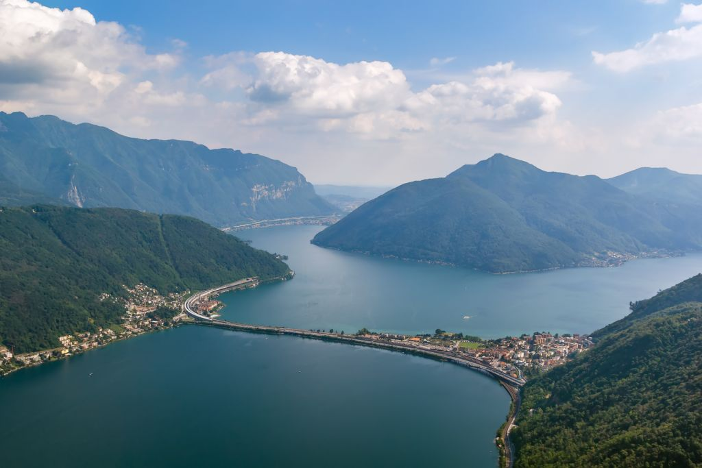 Best lakes in Switzerland - Lake Lugano