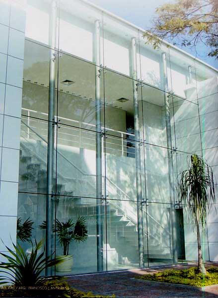 vidro temperado e laminado