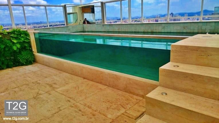 piscina de vidro Aquavision T2G