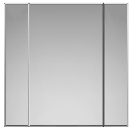 divisão de painel em espelho