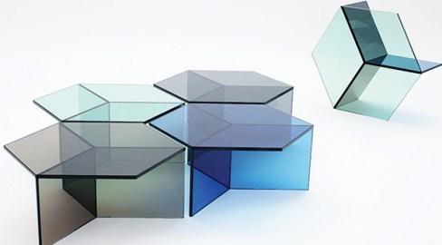 Incorporar o vidro na decoração