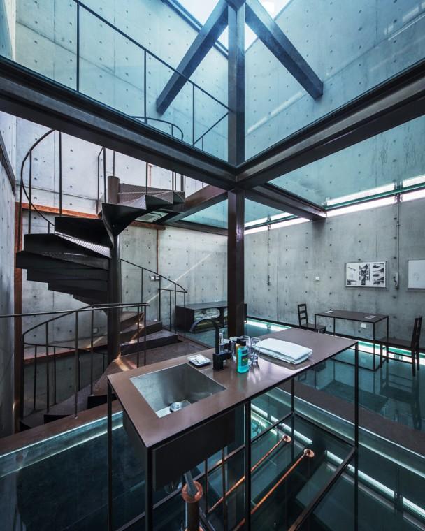 Arquitetura Integrando Pisos: Informações Sobre Vidros Na