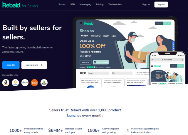 rebaid rebates website