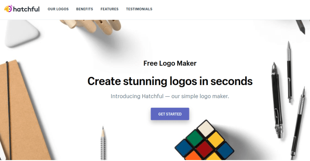 create free logos and branding with hatchful