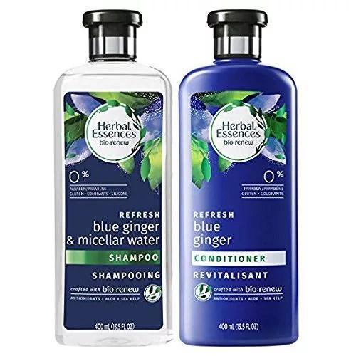 Herbal Essences BioRenew Micellar Water & Blue Ginger