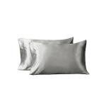 Bedsure Two-Pack Satin Pillowcases Set