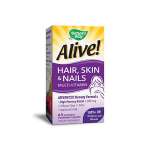 Nature's Way Alive Hair, Skin & Nails Multivitamin with Biotin