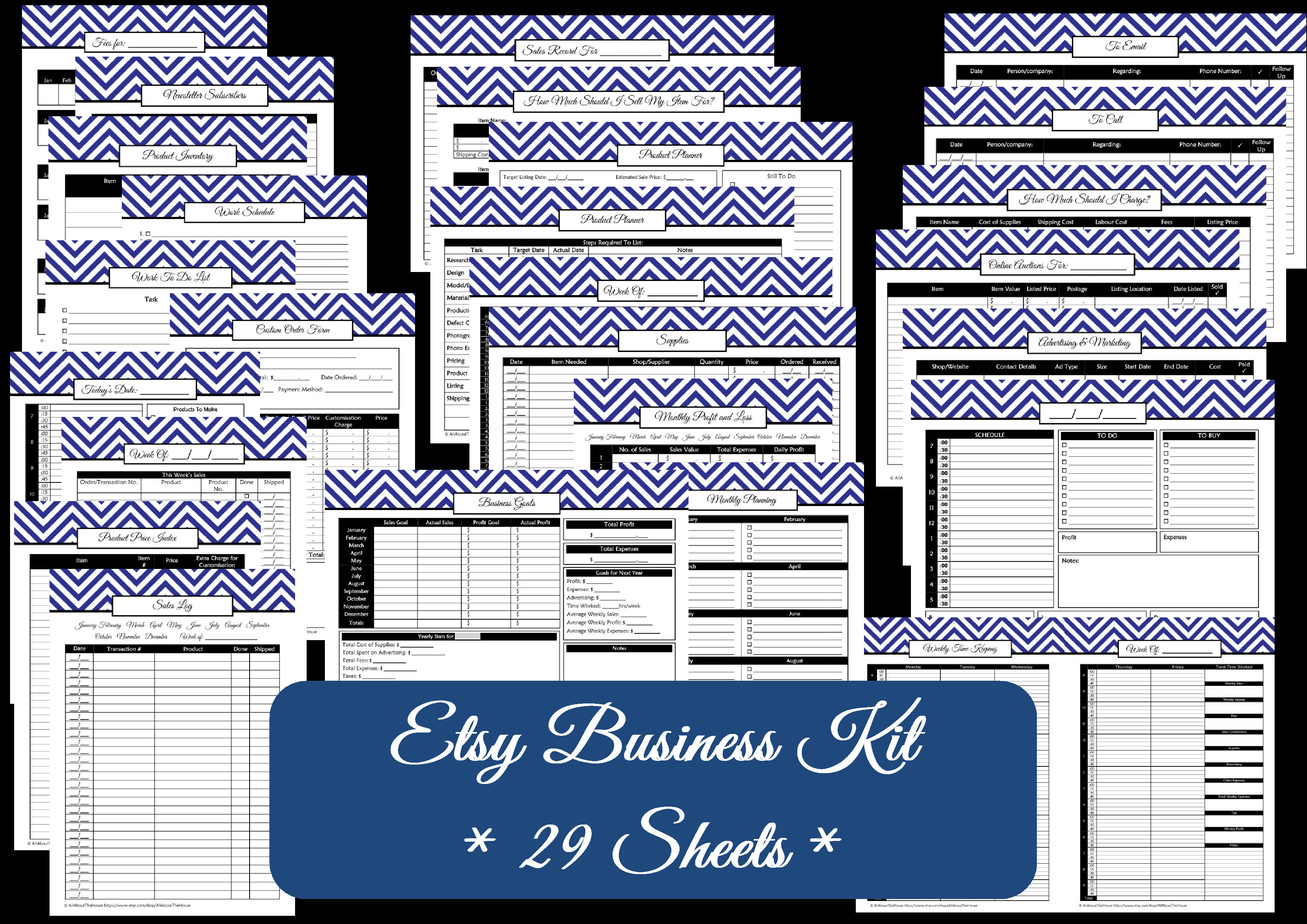 Business Planner Printables