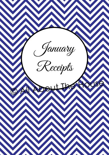 Monthly Receipts - Divider Pages Jan-June(1)