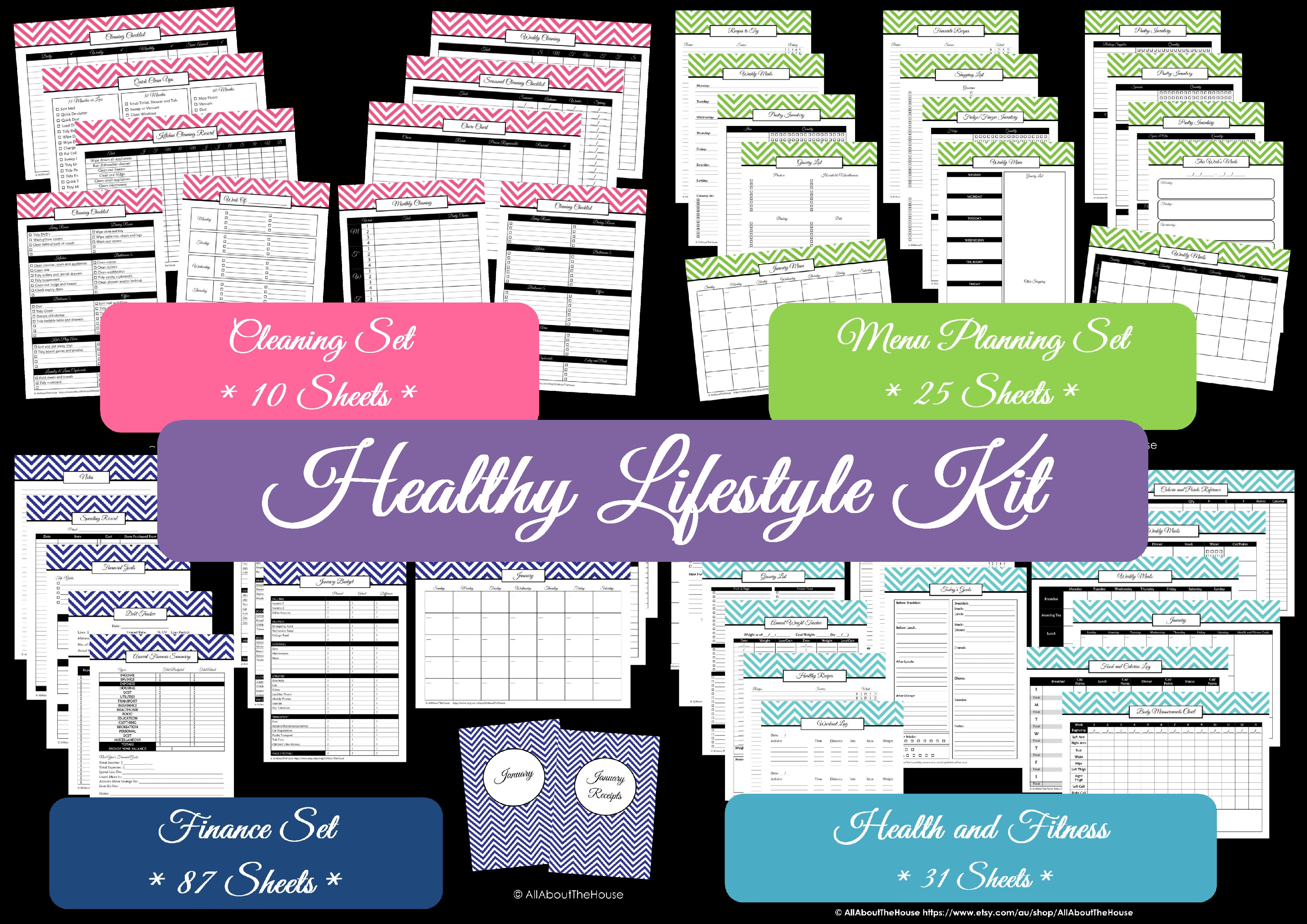 Healthy Lifestyle Kit - AllAboutTheHouse