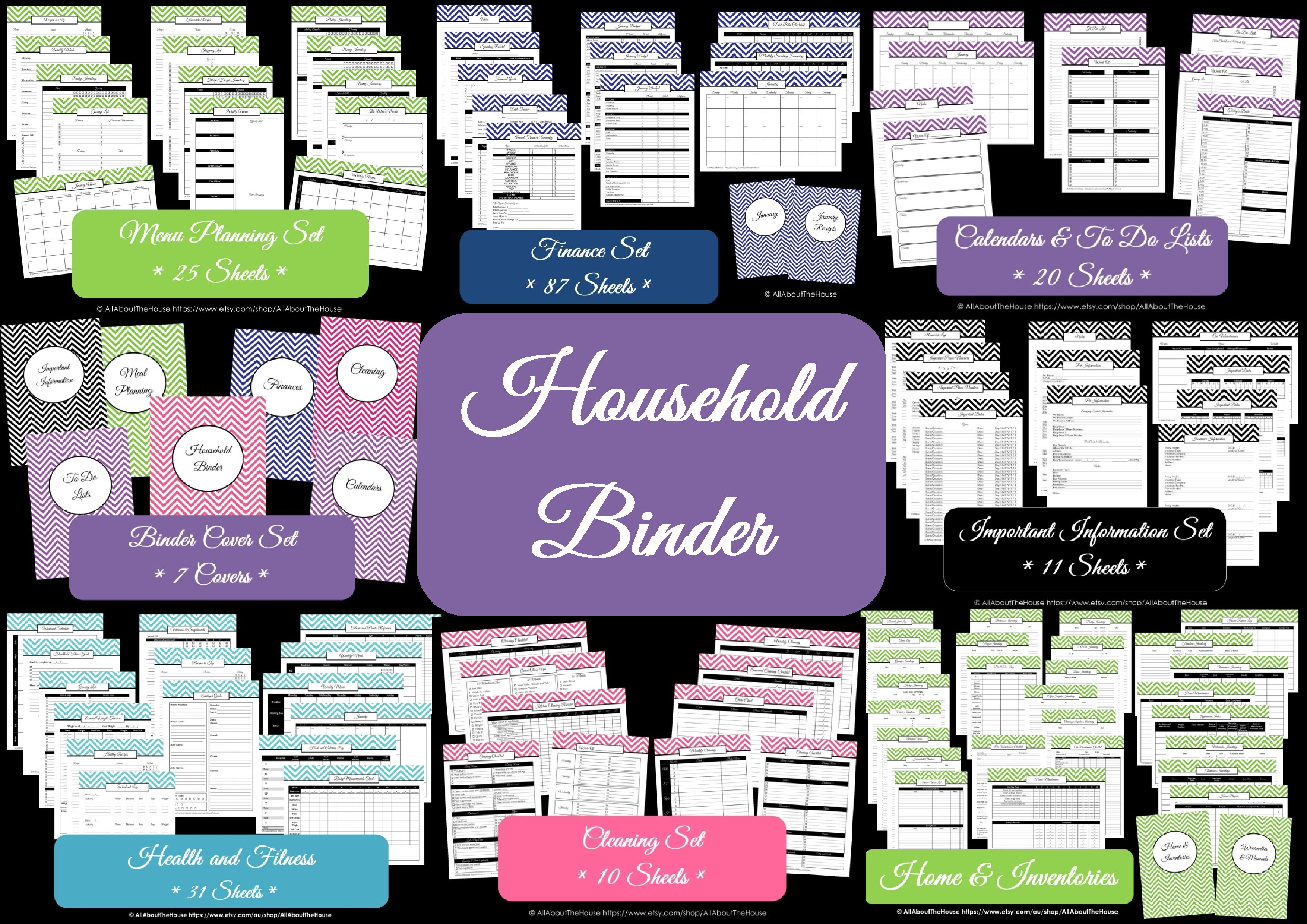 Household Binder - AllAboutTheHouse