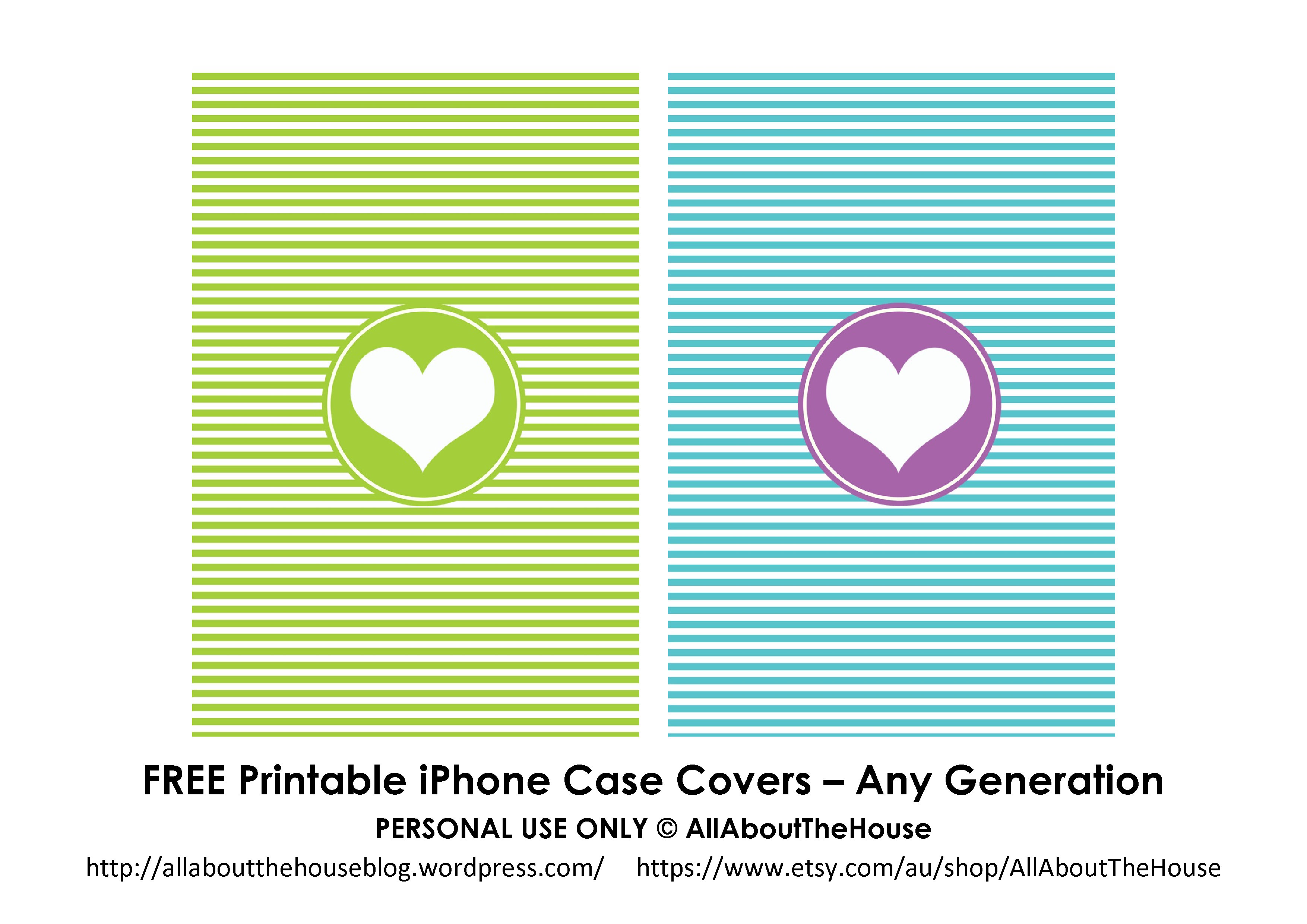 Free iPhone case covers - AllAboutTheHouse